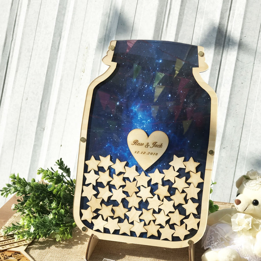 Night Sky Wedding Guest book AlternativeFlorals For Less cheap artificial fake flowers online