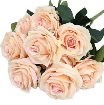 Artificial French RosesChampangeFlorals For Less cheap artificial fake flowers online