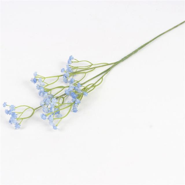 Artificial Baby's Breath SprayBlueFlorals For Less cheap artificial fake flowers online