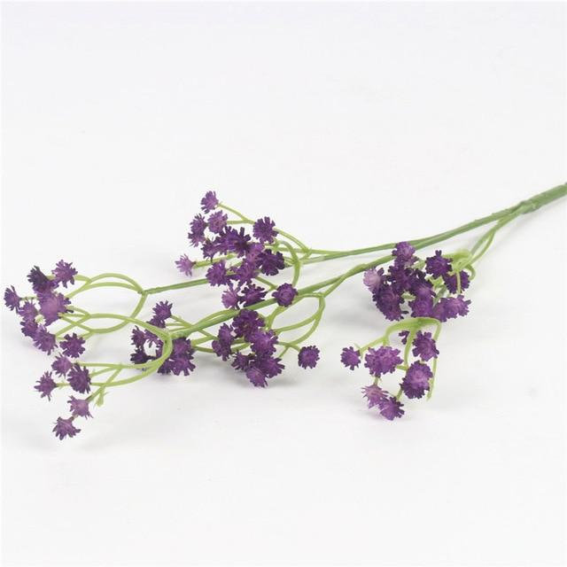 Artificial Baby's Breath SprayPurpleFlorals For Less cheap artificial fake flowers online