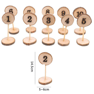 Wooden Table NumbersFlorals For Less cheap artificial fake flowers online