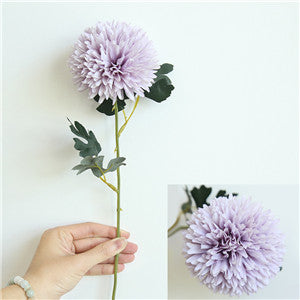 Artificial Dahlia SprayPurpleFlorals For Less cheap artificial fake flowers online