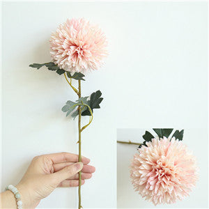 Artificial Dahlia SprayBlushFlorals For Less cheap artificial fake flowers online