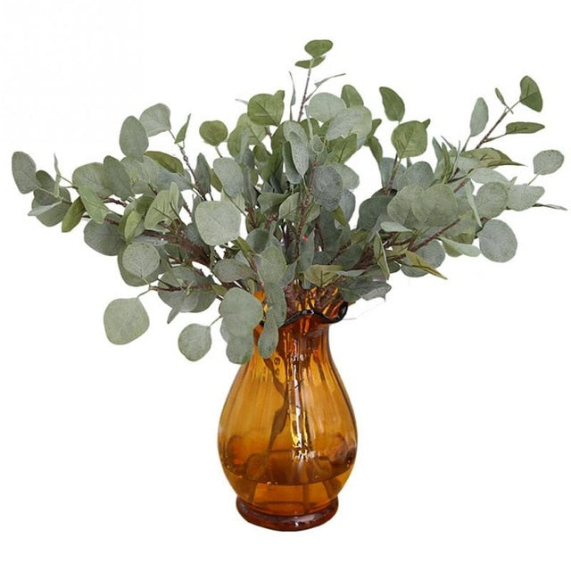 Artificial Silver Dollar Eucalyptus LeafFlorals For Less cheap artificial fake flowers online