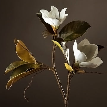 Artificial Magnolia SprayFlorals For Less cheap artificial fake flowers online