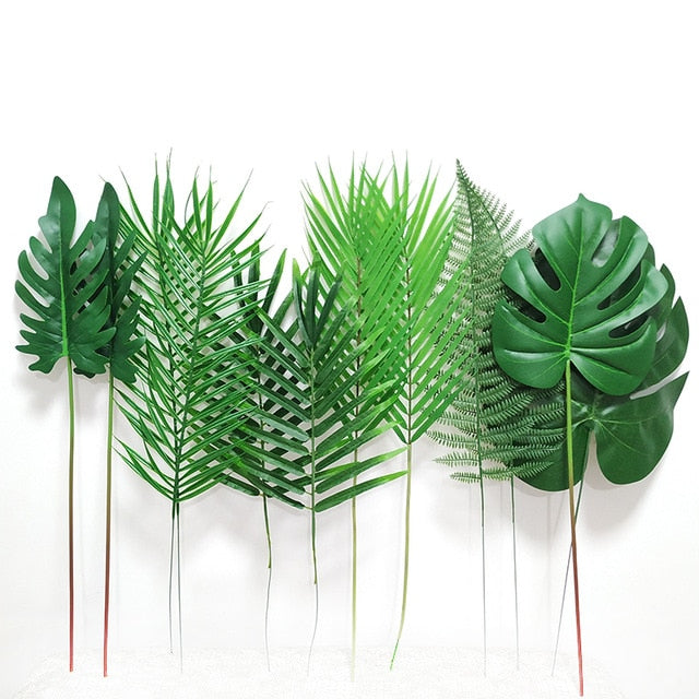 Artificial Tropical Leaves12 Piece PackageFlorals For Less cheap artificial fake flowers online