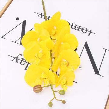 Artificial Butterfly OrchidYELLOWFlorals For Less cheap artificial fake flowers online
