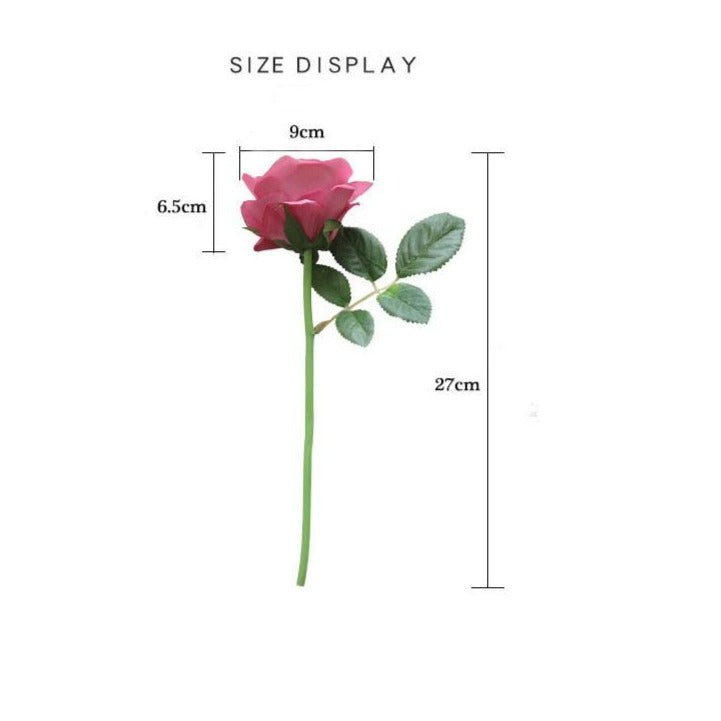 Artificial Silk Rose SprayFlorals For Less cheap artificial fake flowers online