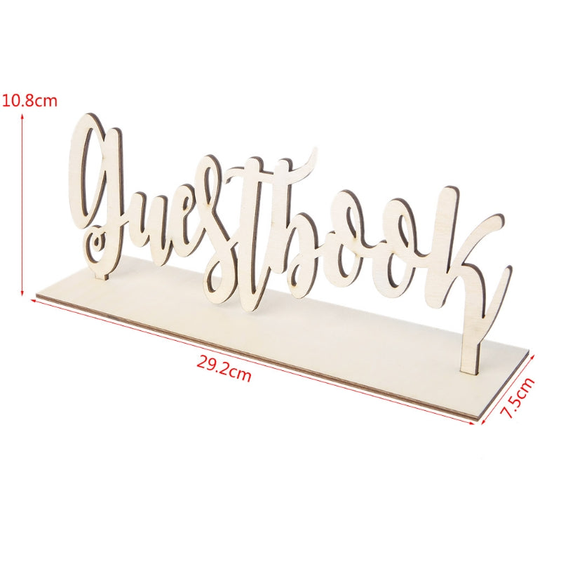 Wood Guestbook SignFlorals For Less cheap artificial fake flowers online