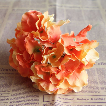 Apricot BlossomOrangeFlorals For Less cheap artificial fake flowers online