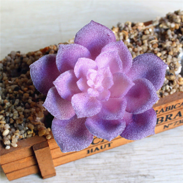 Artificial SucculentsPurpleFlorals For Less cheap artificial fake flowers online