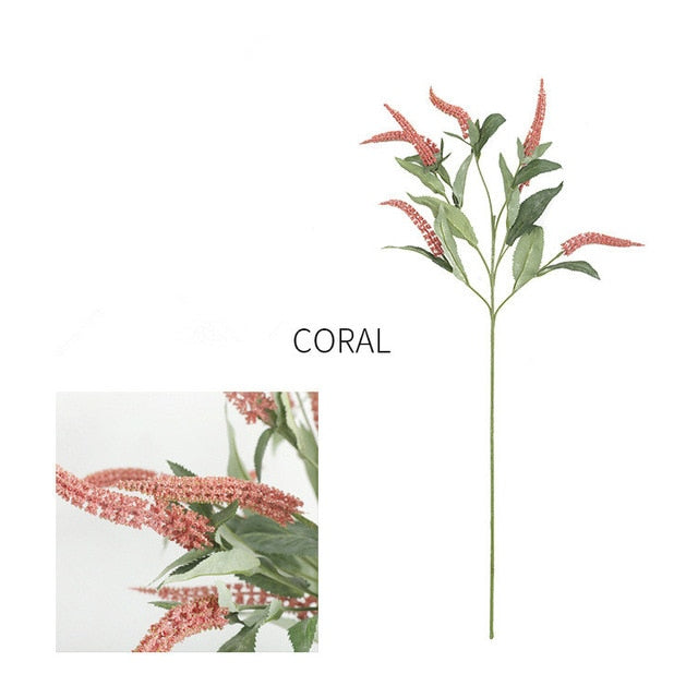 Artificial Amaryllis SprayCoralFlorals For Less cheap artificial fake flowers online
