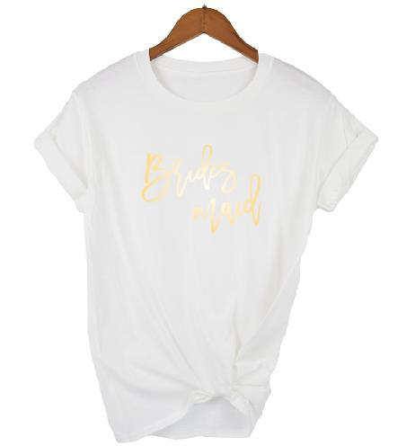 Gold Print Bridal Party T-ShirtsFlorals For Less cheap artificial fake flowers online