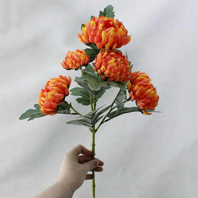 Artificial MarigoldsOrangeFlorals For Less cheap artificial fake flowers online