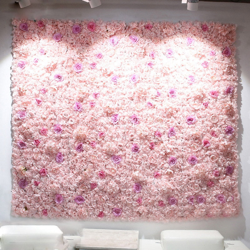 Flower Wall (7.5 ft)Florals For Less cheap artificial fake flowers online