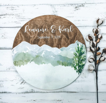Custom Handmade Round Wedding Guestbook AlternativeFlorals For Less cheap artificial fake flowers online