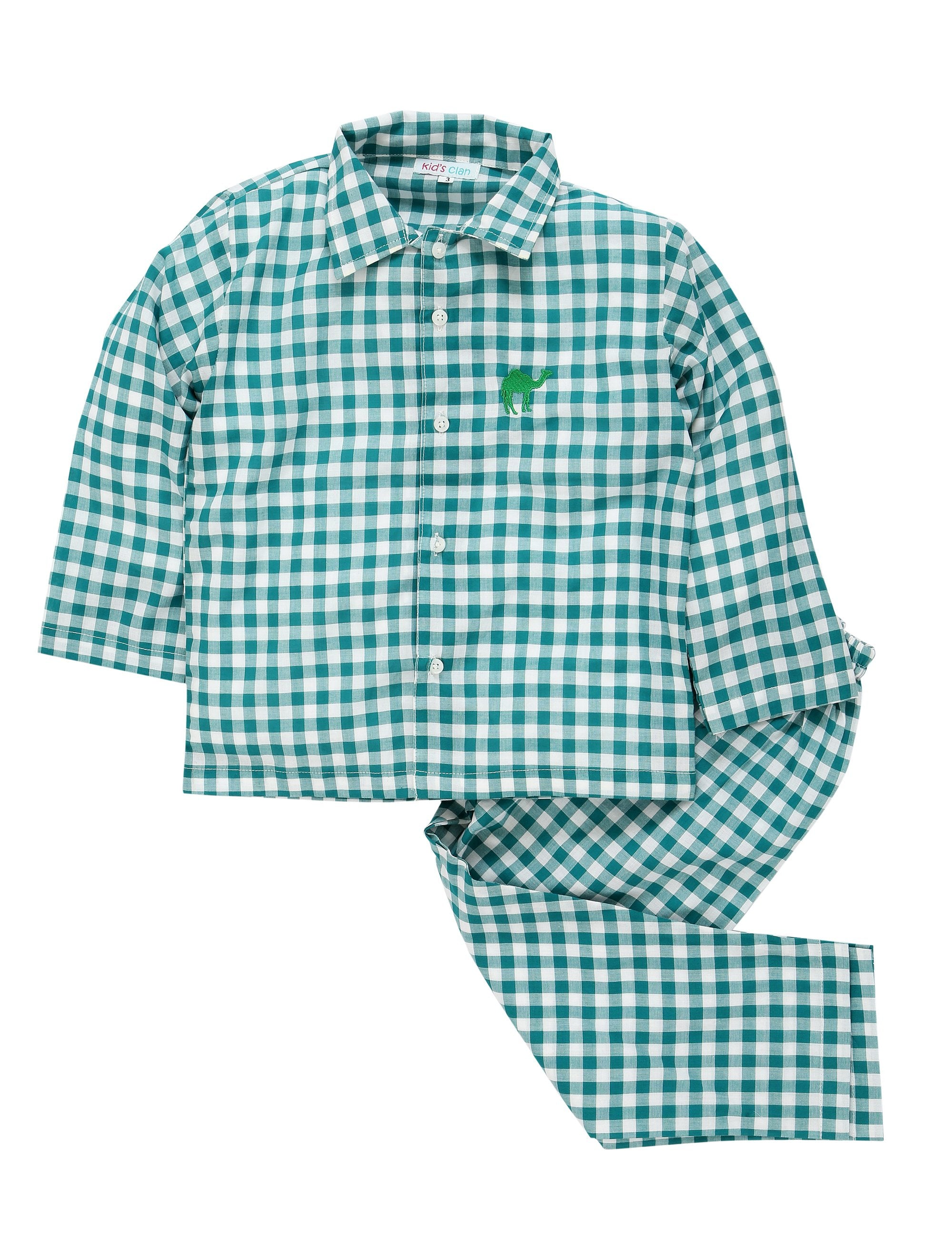 Checks Nightwear-Green