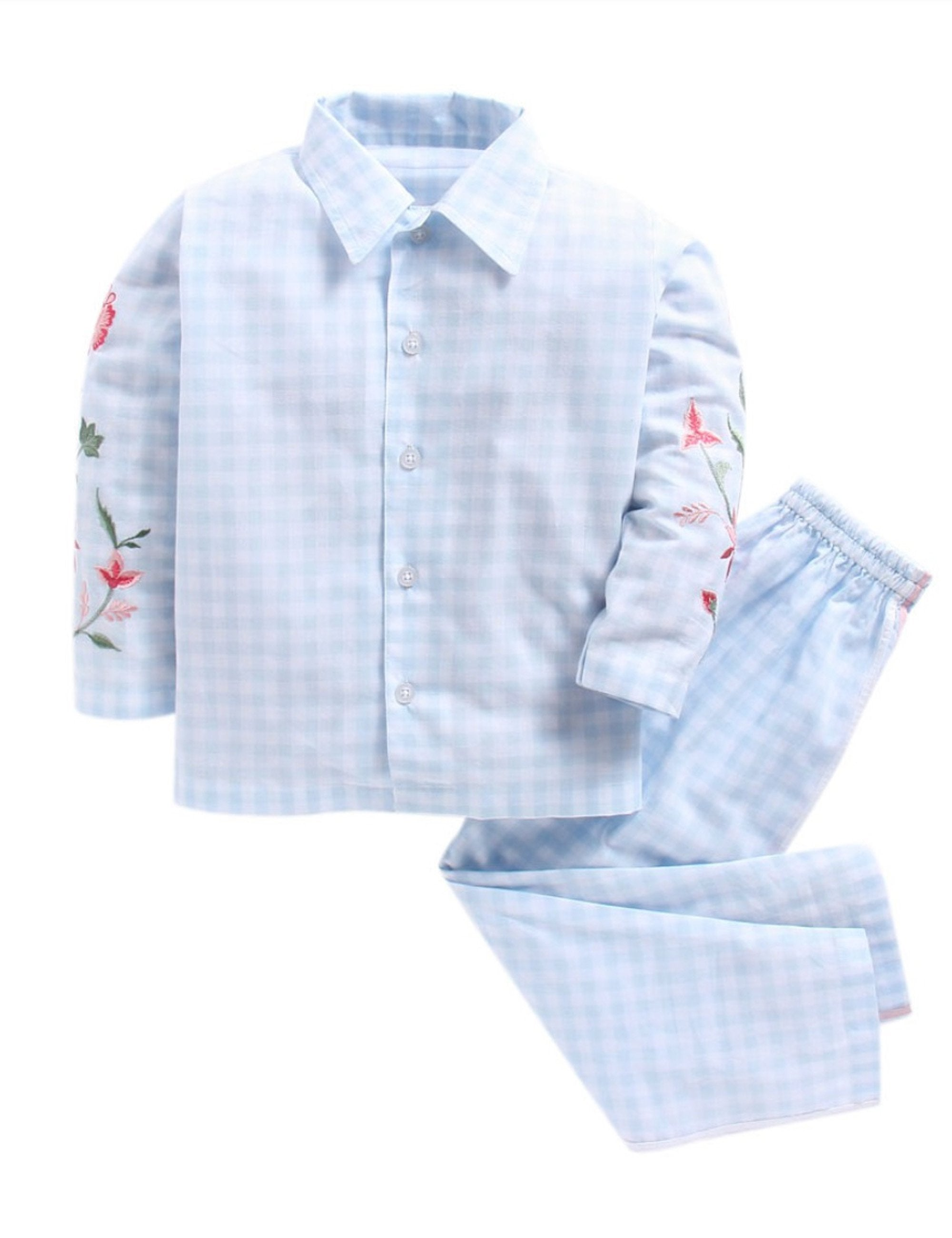 Checks Nightwear-Blue