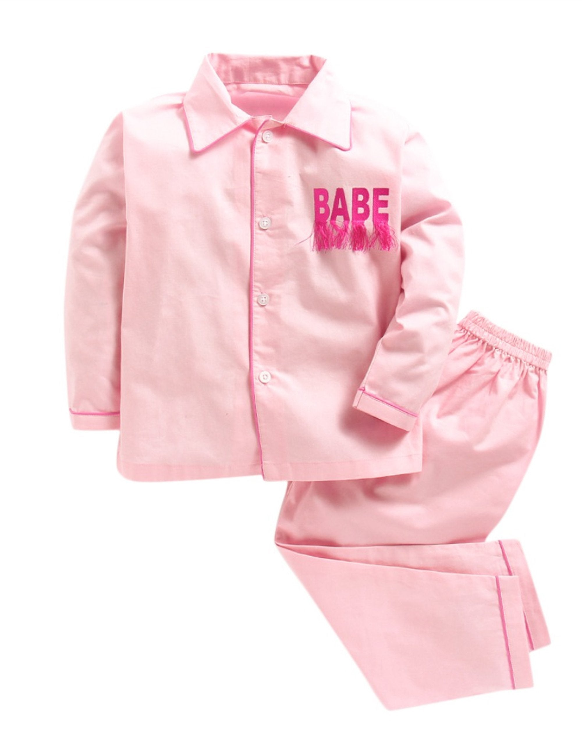 Plain Pink BABE Nightwear