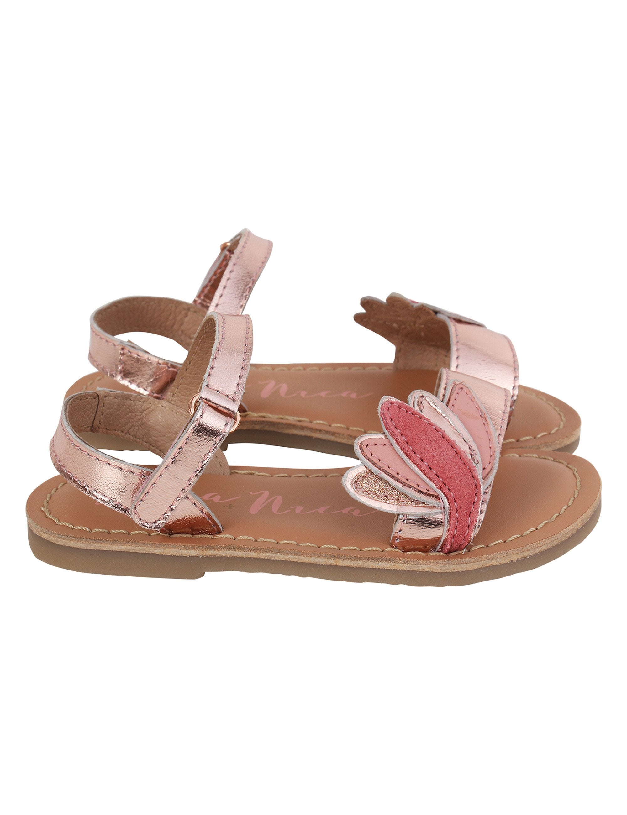 Lotus Flats for Girls in Pink Colour