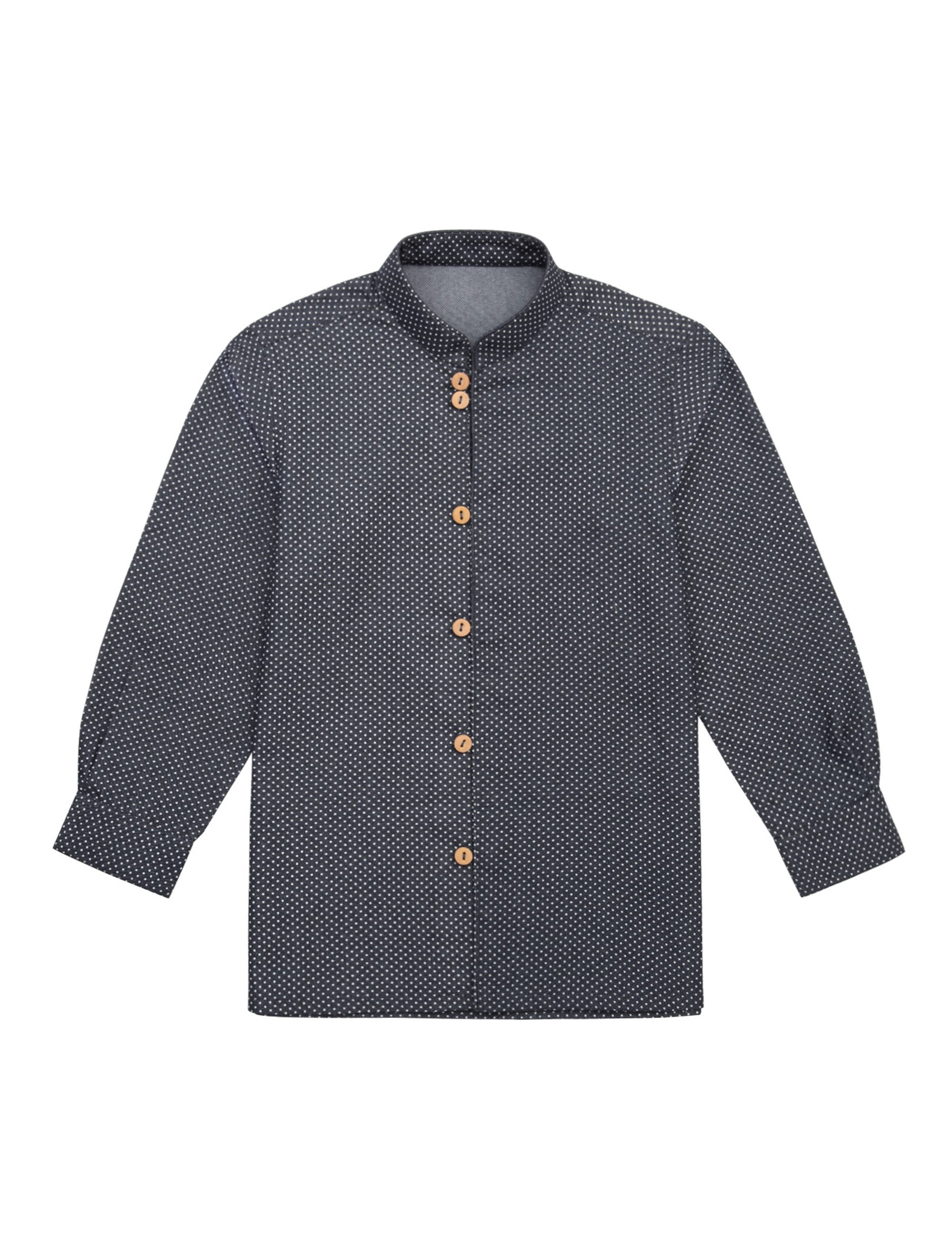 Oscar Shirt in Blue Colour for Boys