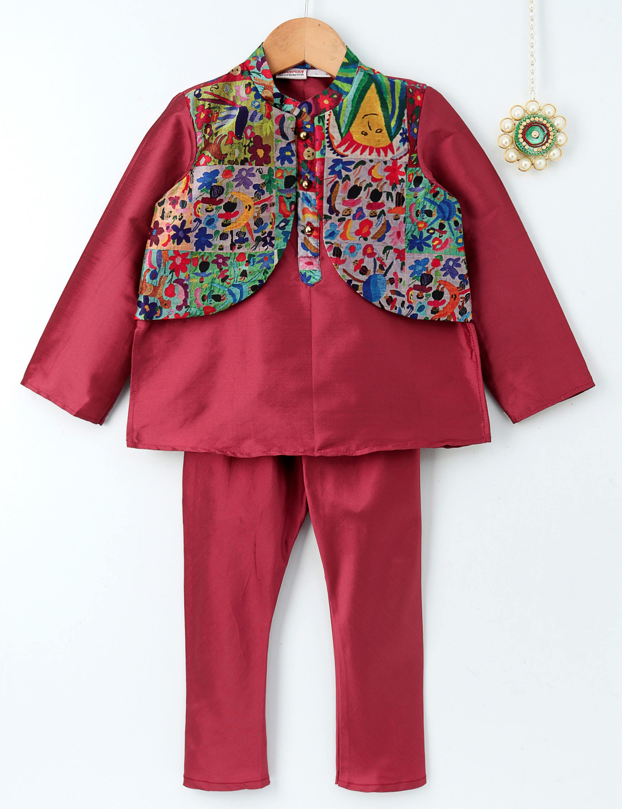Prestitched Jacket for Boys
