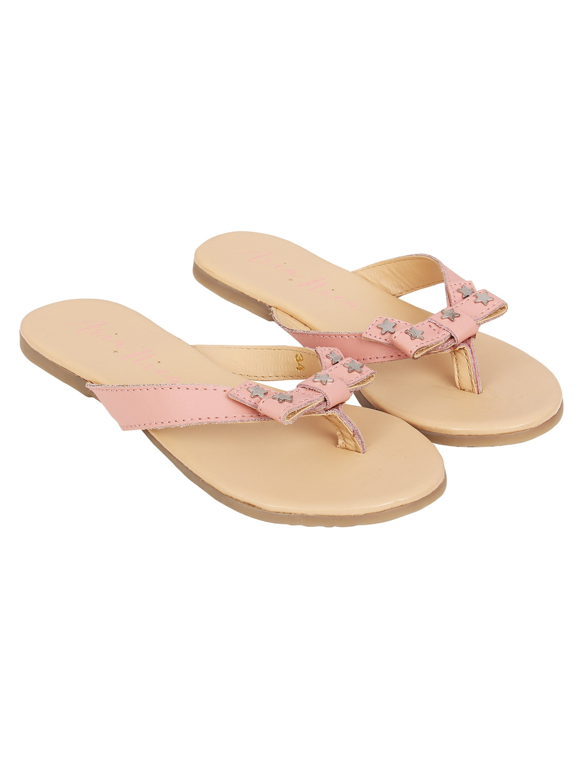 Stylish Flats for Girls in Baby pink colour