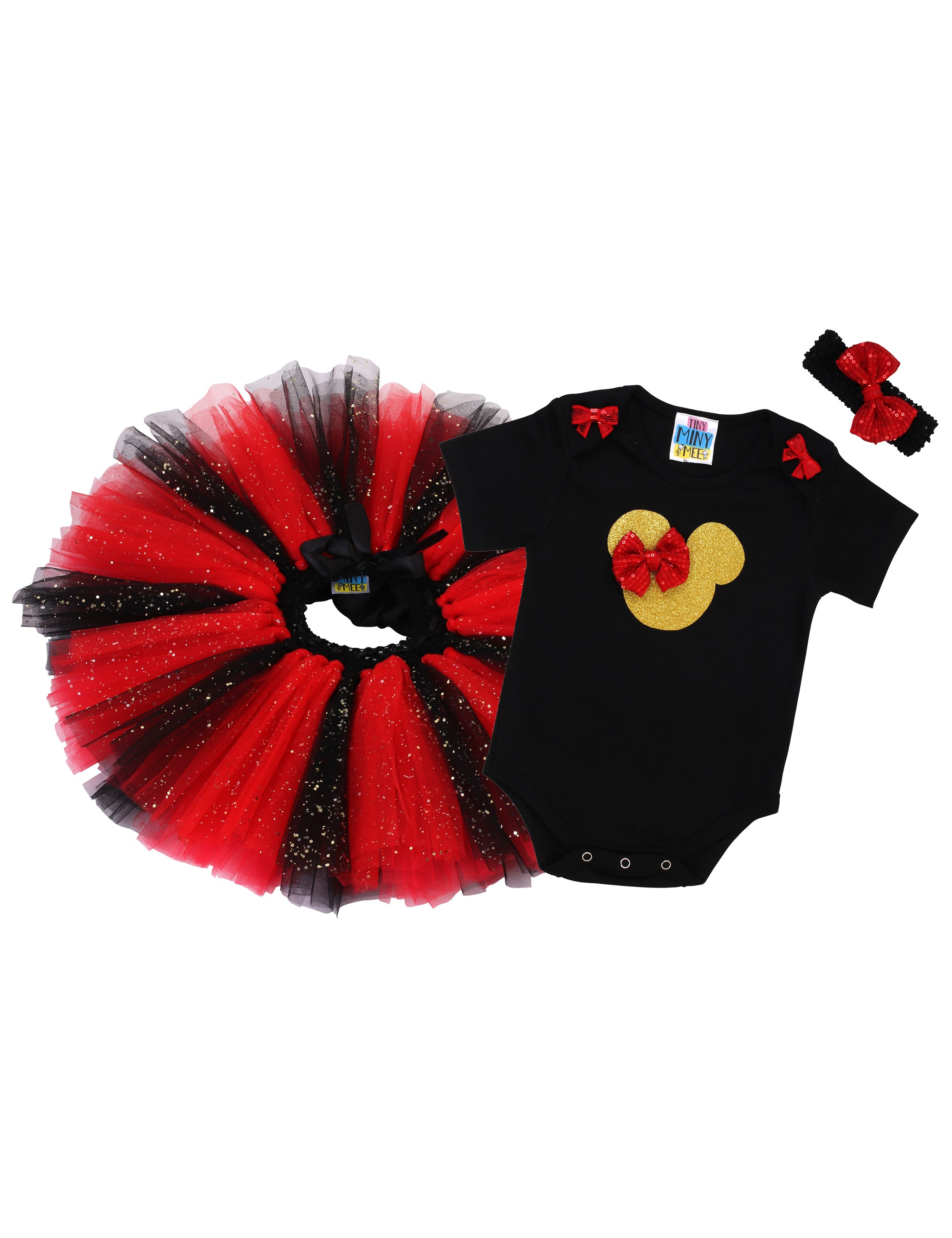 Red and Black Minnie Outfit