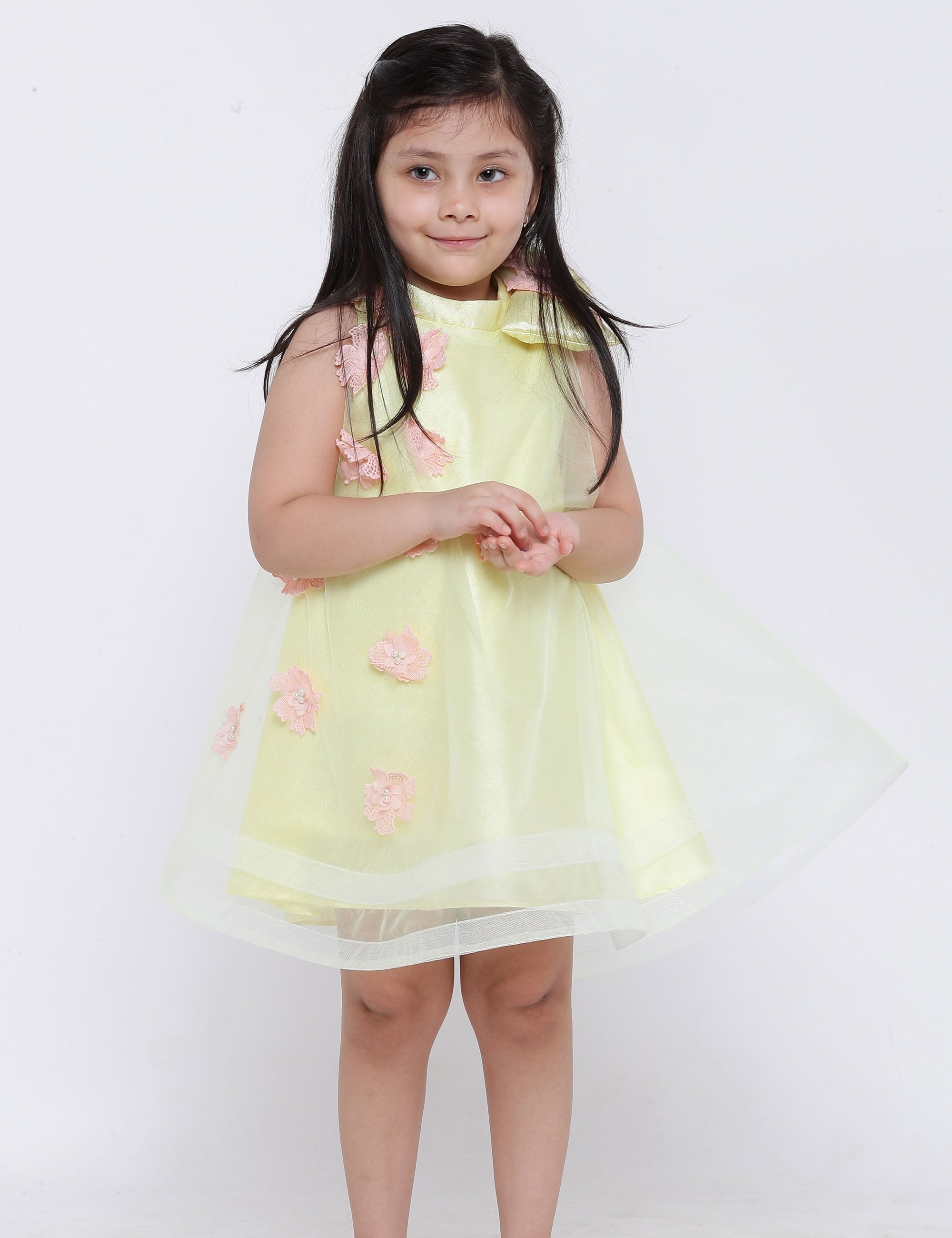 Lulu Dress in Yellow Colour