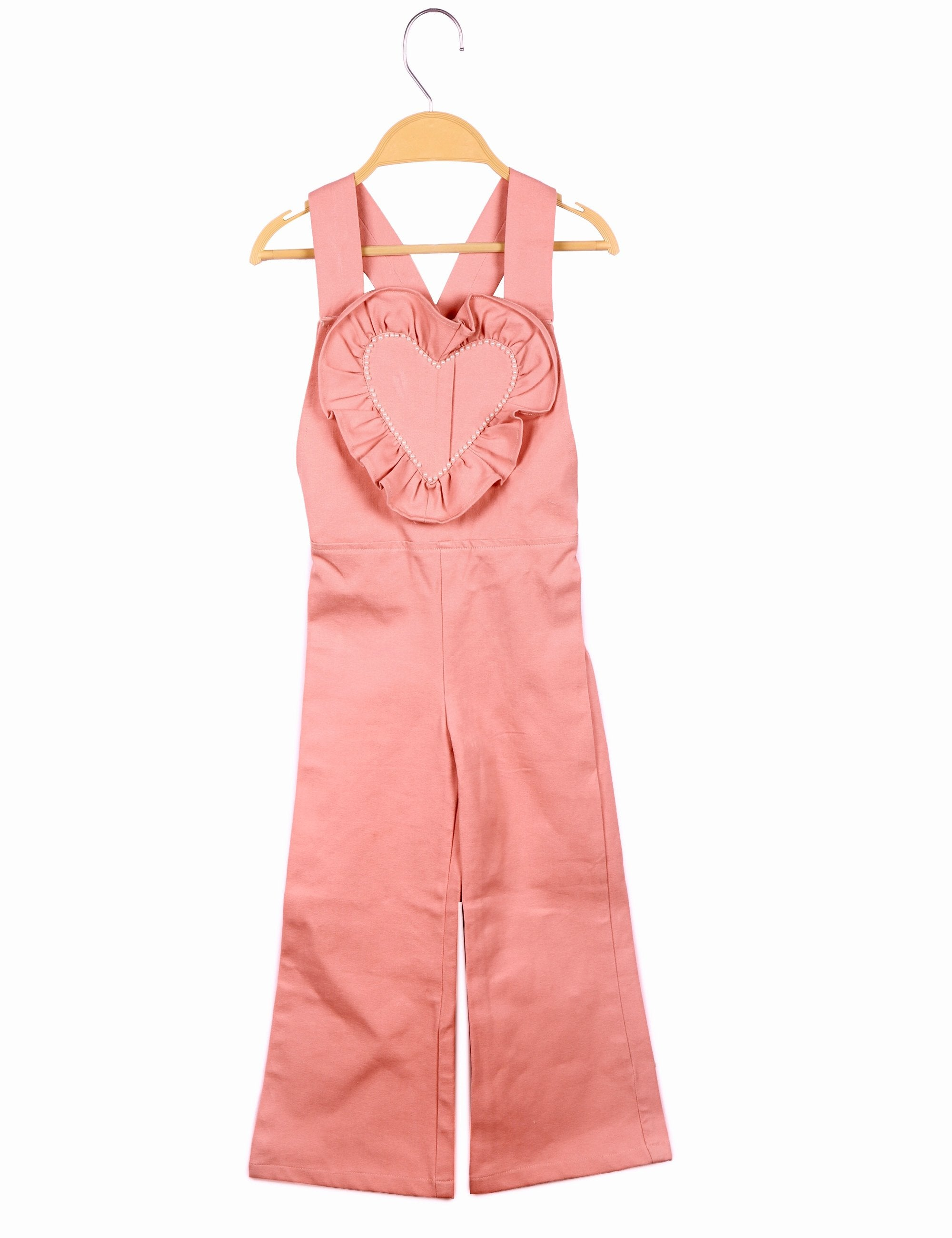 Pink Heart Jumpsuit