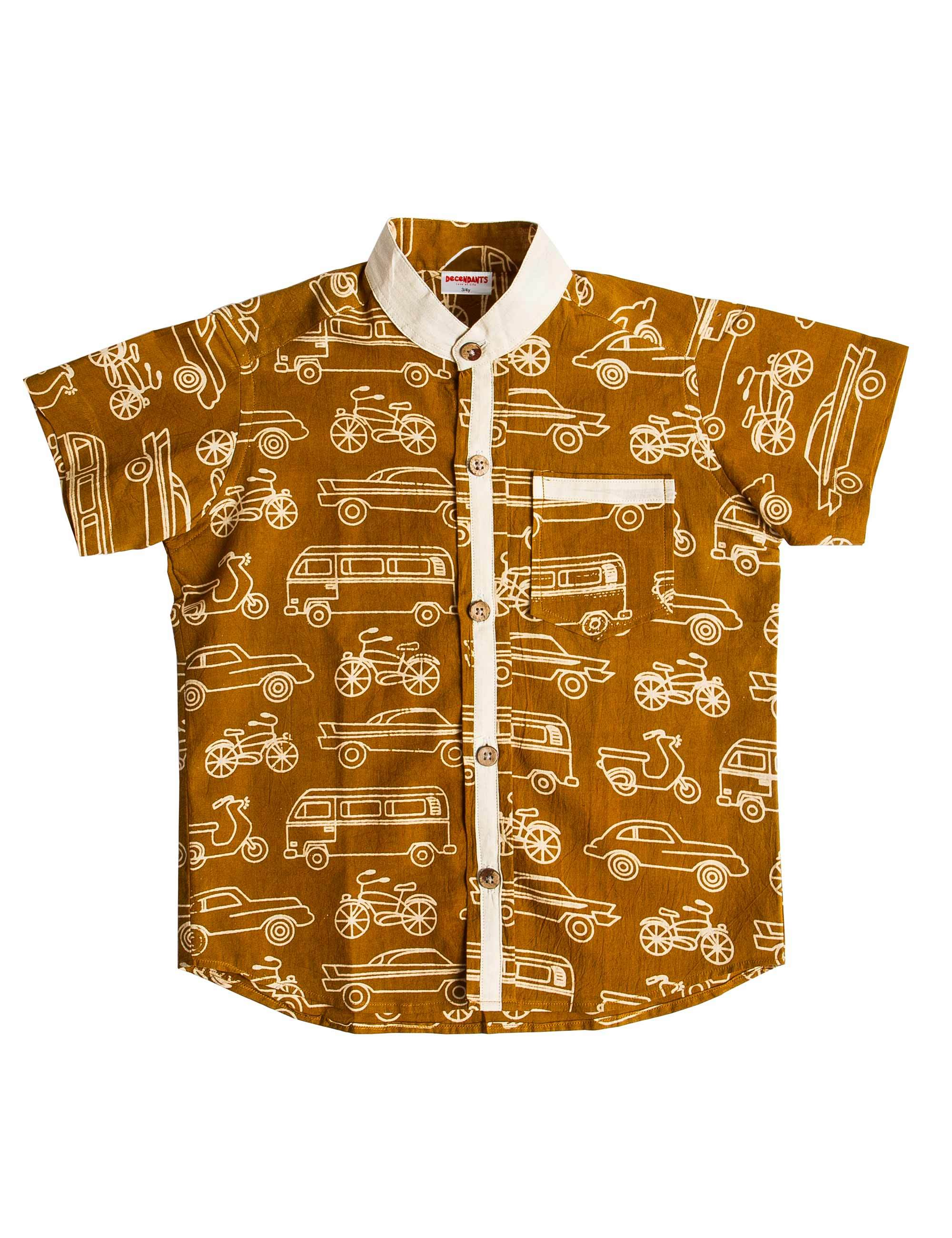 Ochre Vehicles shirt