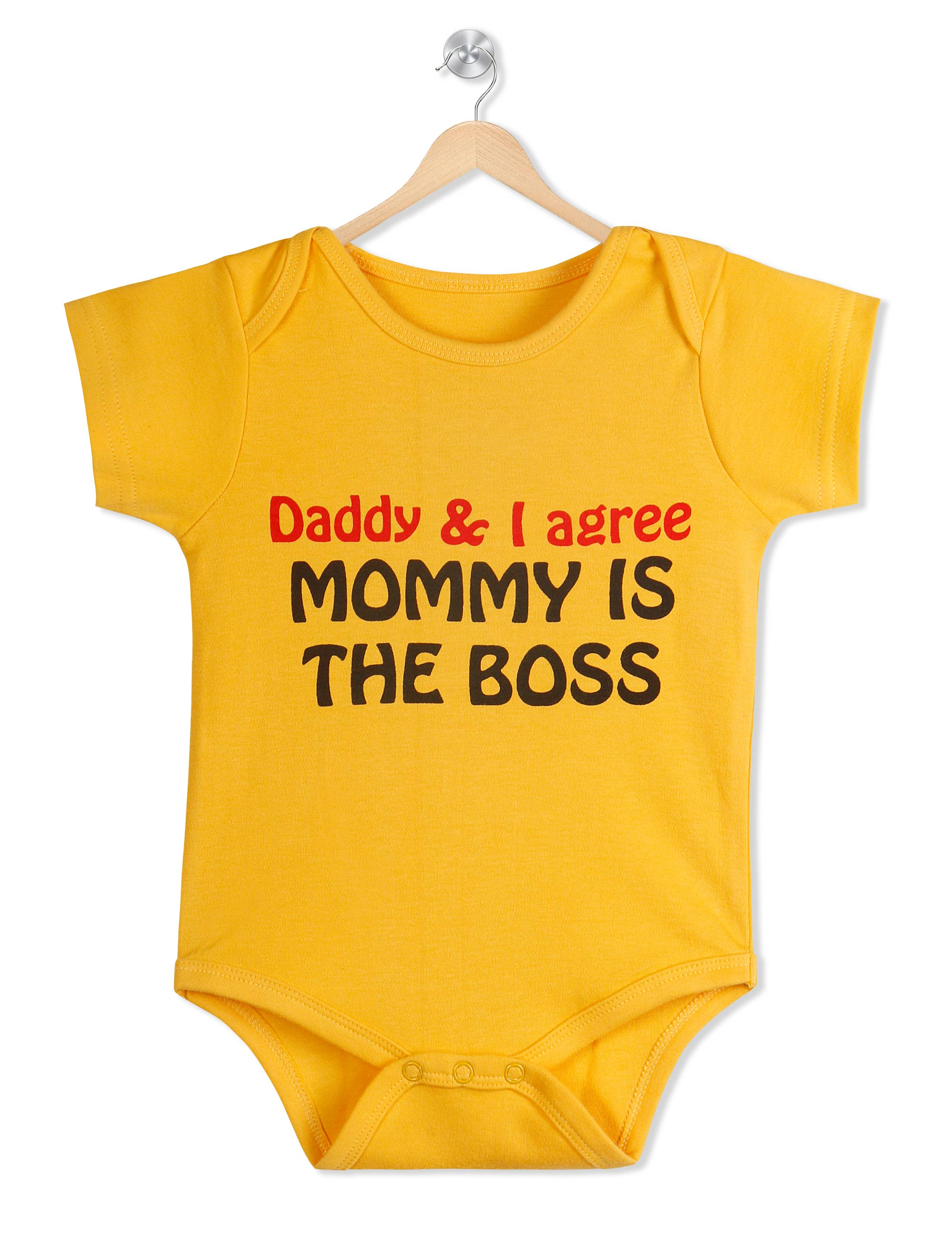 Mommy Is the Boss Organic Romper