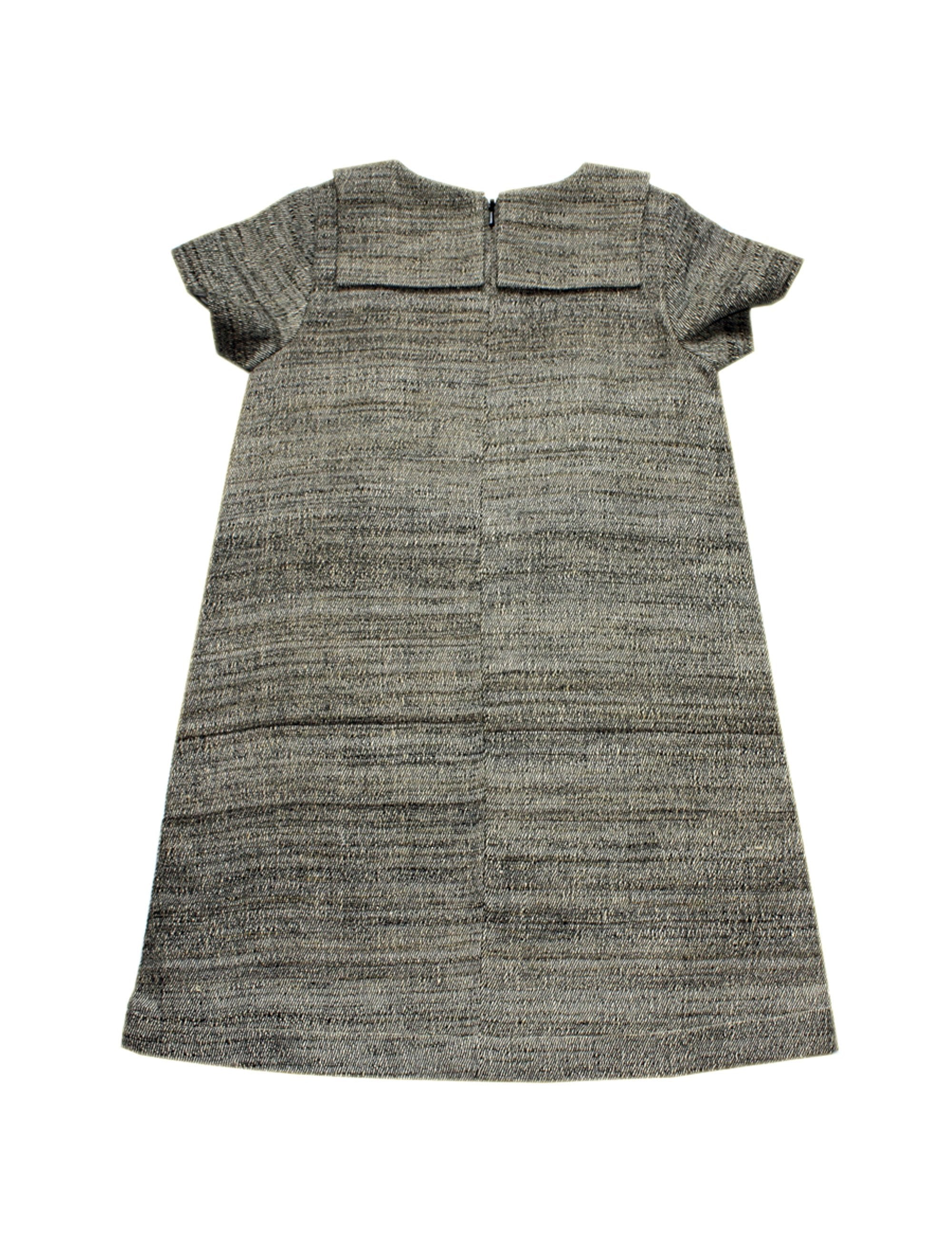Jute Dress in Grey Colour for Girls