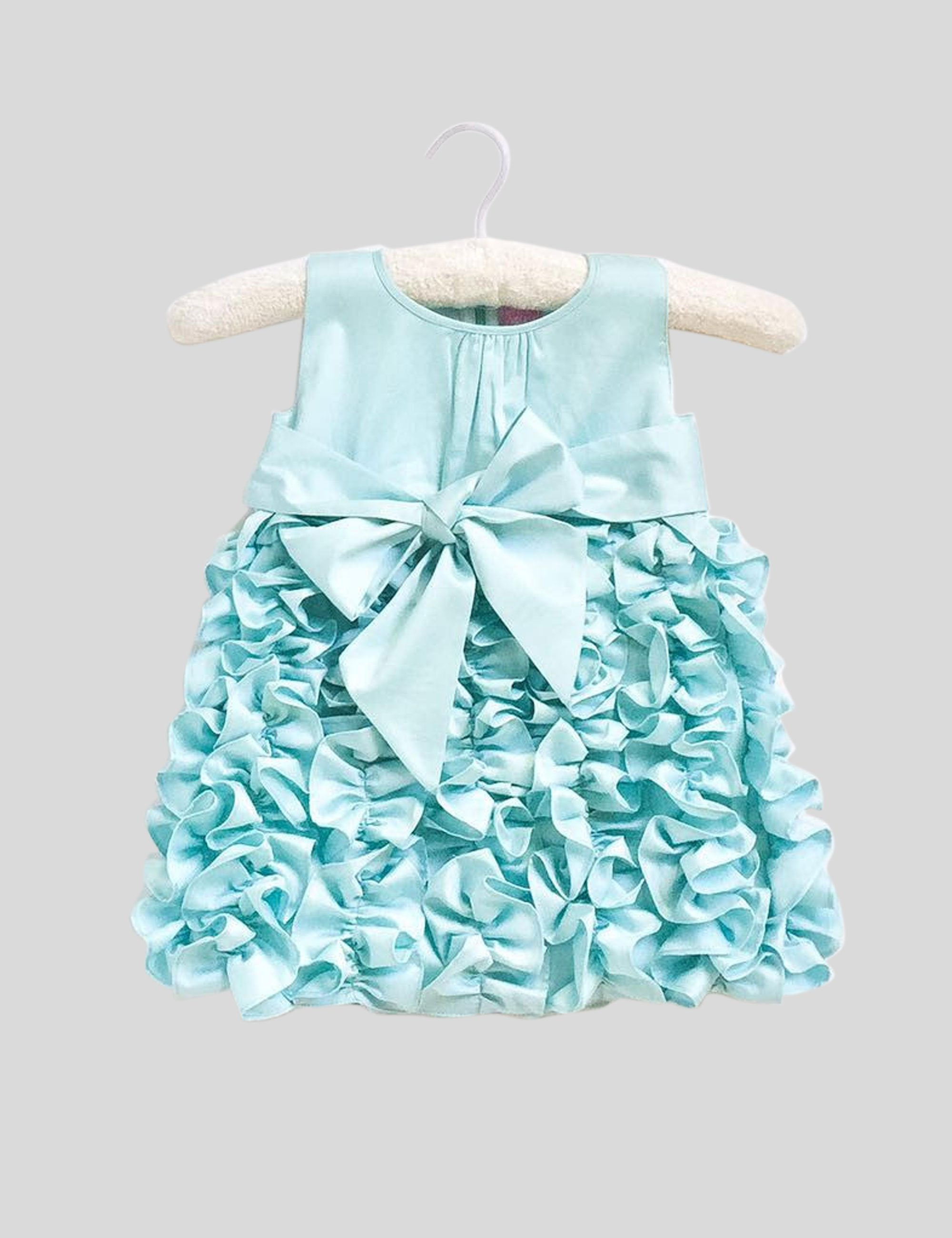Blue Sleeveless Fairy Dress