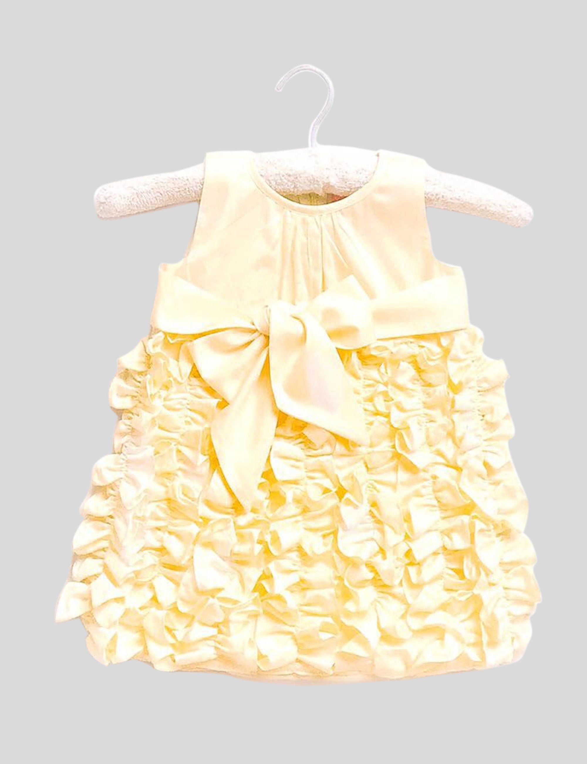 Buttercream Dress in Yellow Colour for Girls