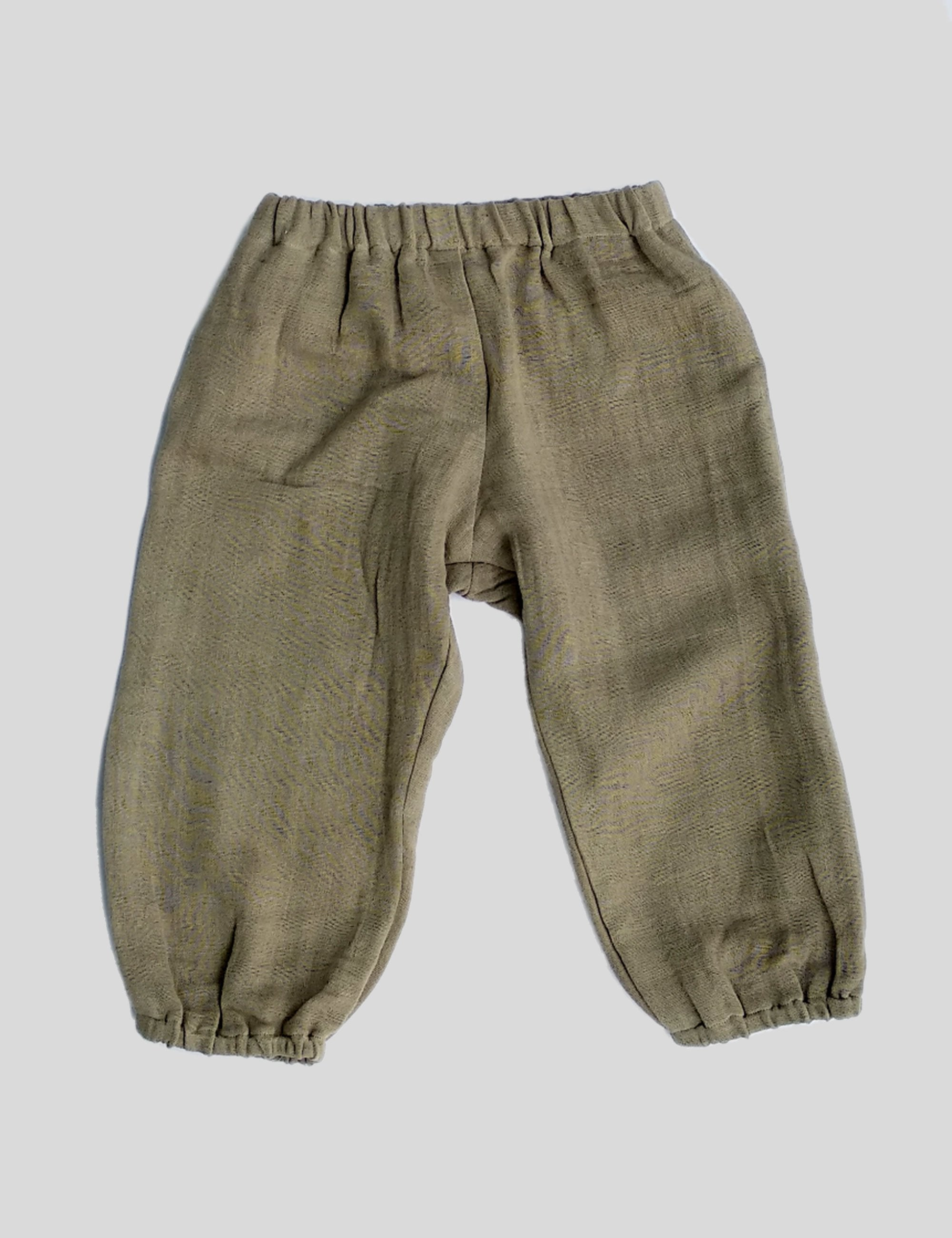 Two Sided Pockets Balloon Pants in Grey for Boys