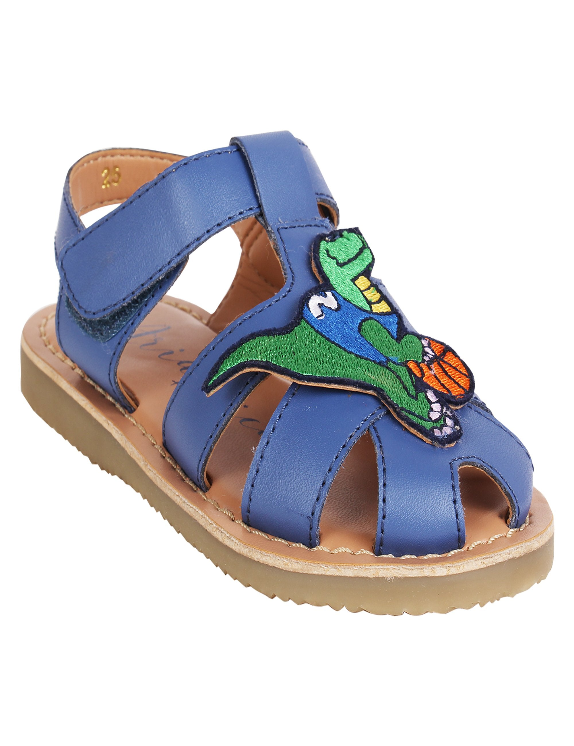 Dino Flats in Blue Colour