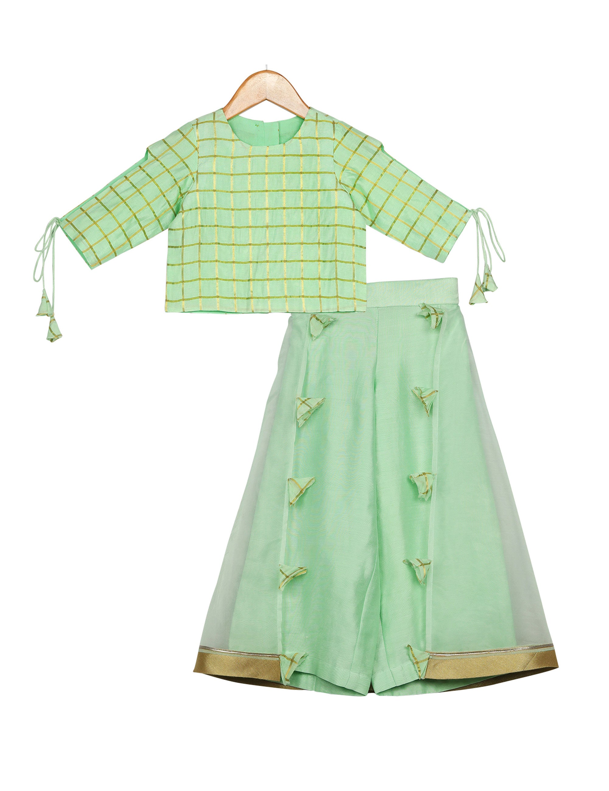 Pista Fusion Palazzo Set for Girls