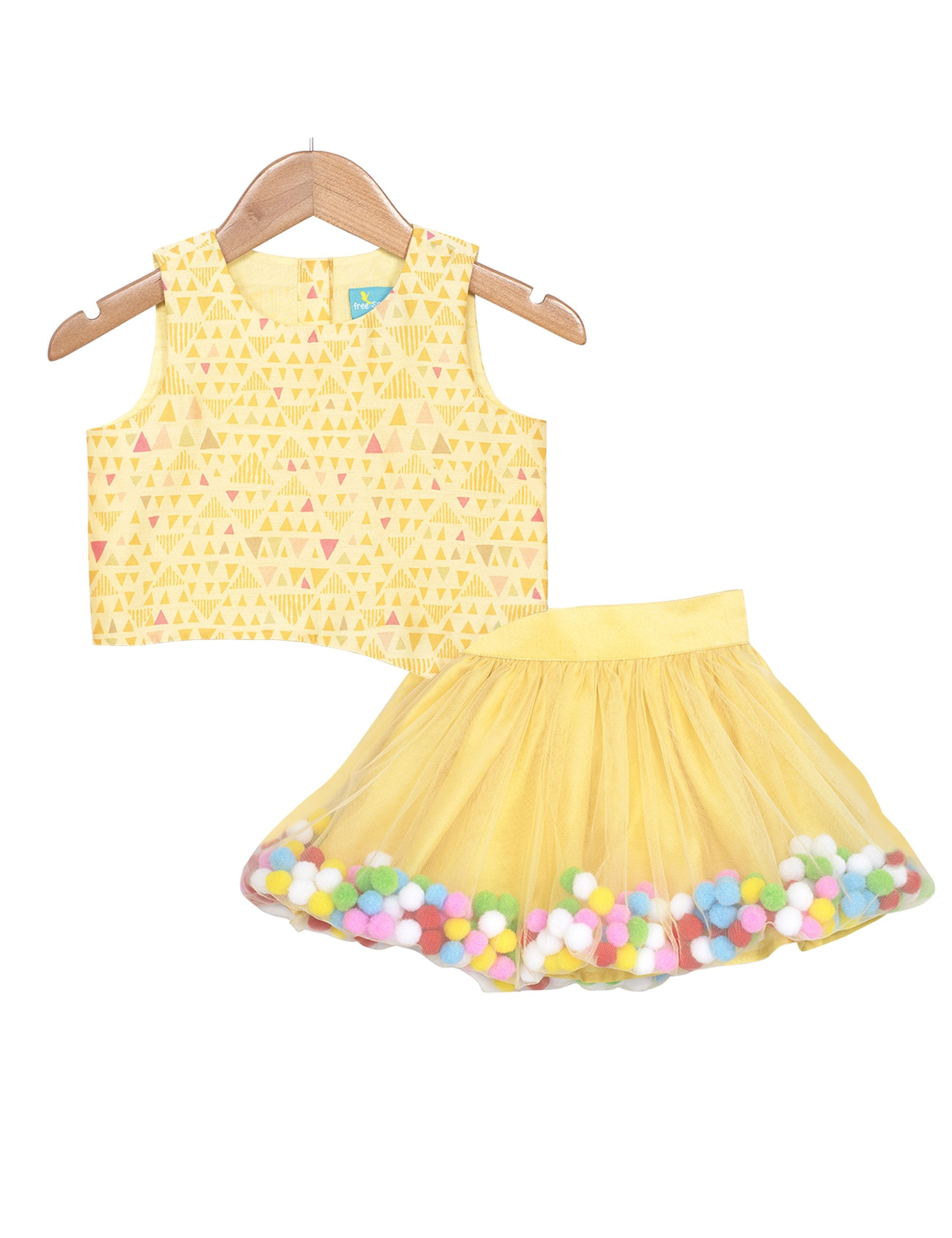 Pompom Belle Skirt Set