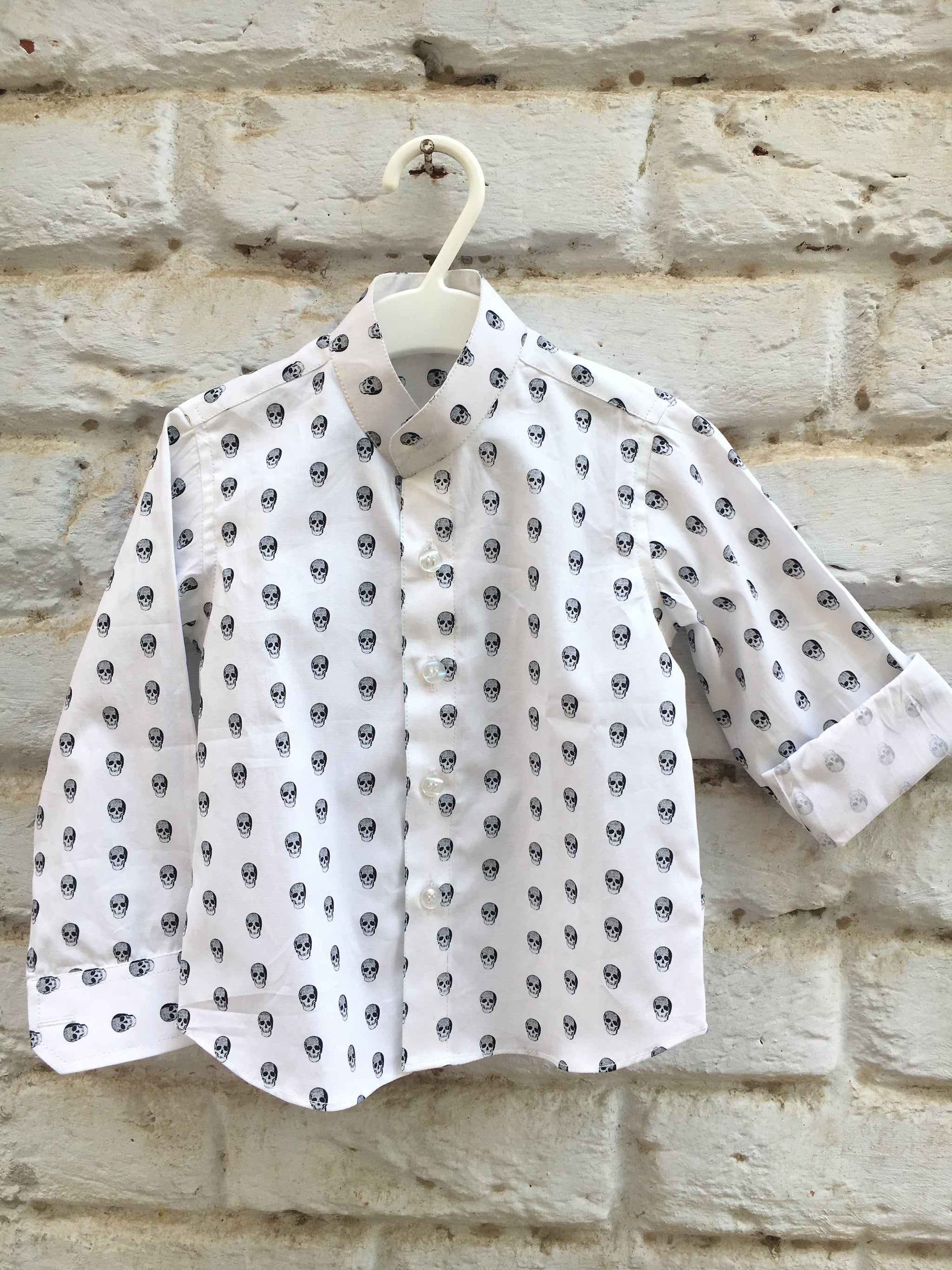 Skull Print Shirt for Boys