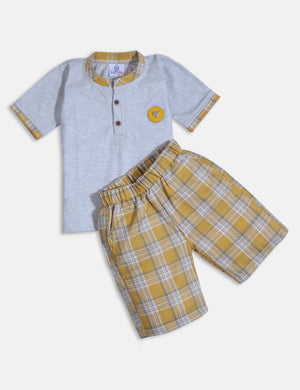 Smart casual clothing set for boys