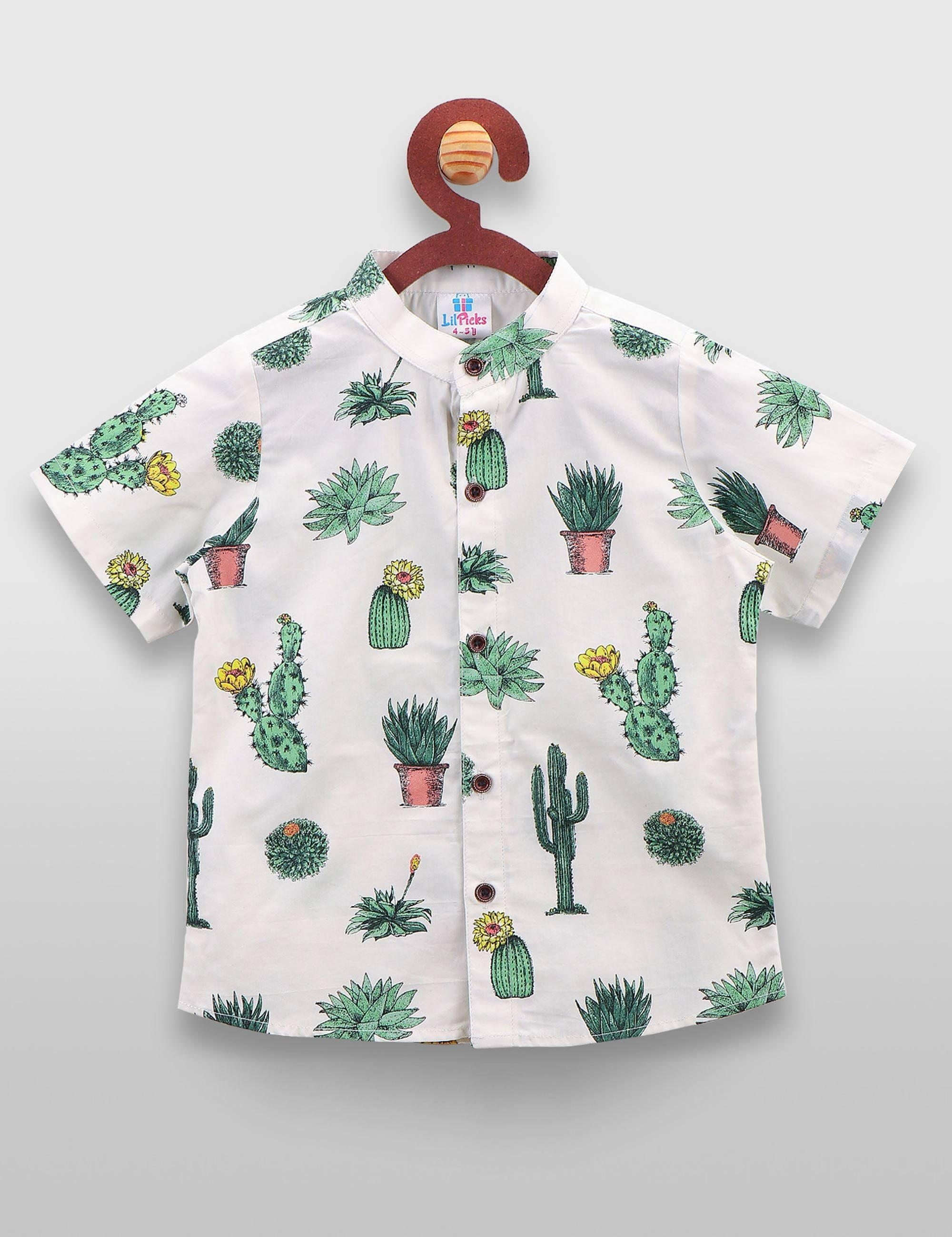 7d689c39 Buy Cactus printed shirt at best Price - Mini Firgun