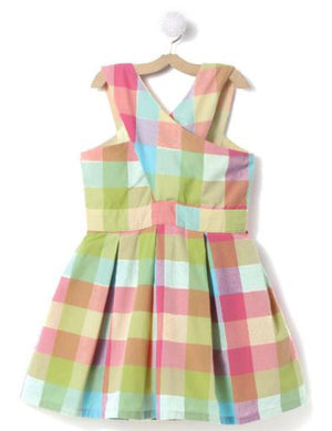 Checks Printed Cotton Dress