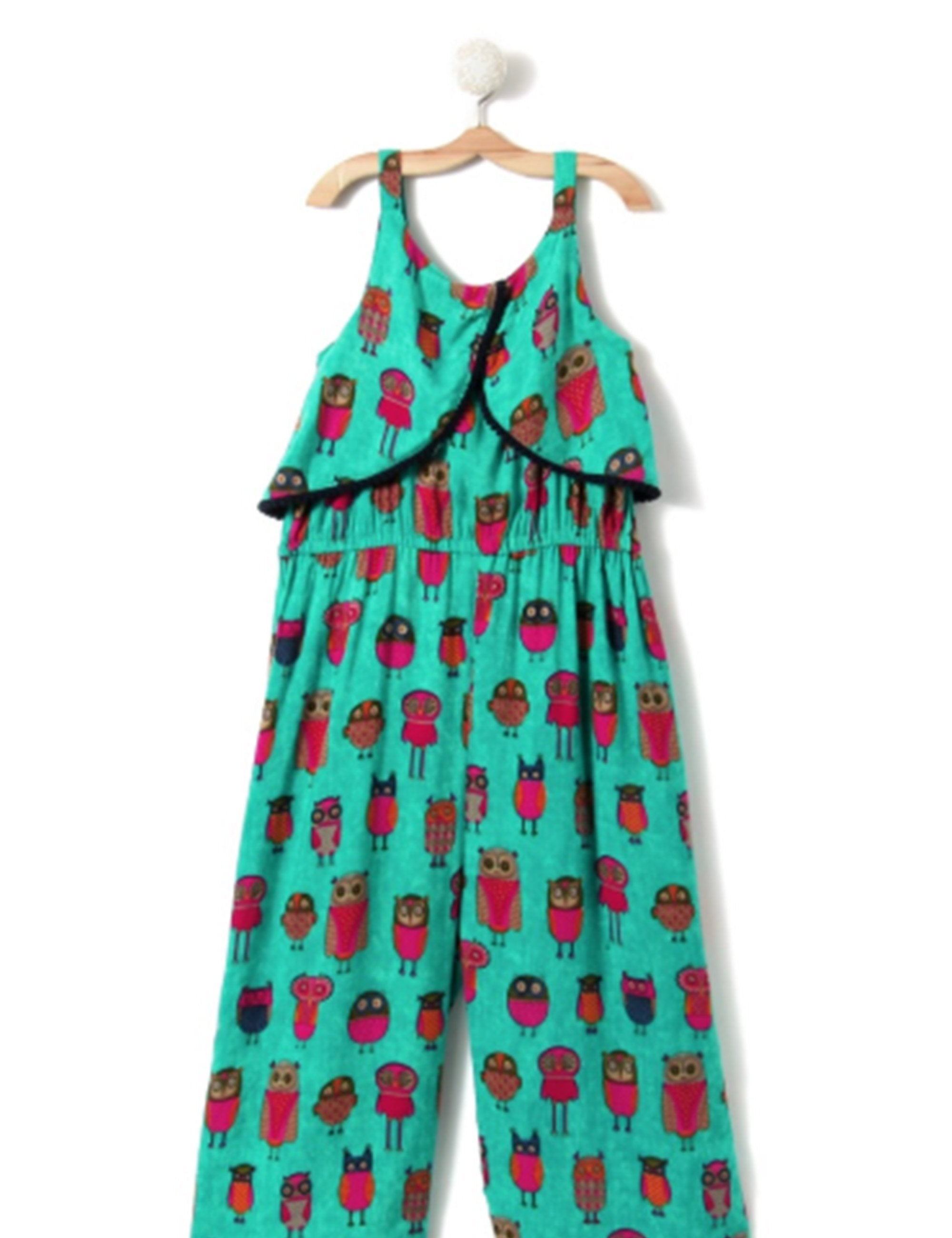 111e0ce497 Buy Green Printed Long Jumpsuit at best Price - Mini Firgun