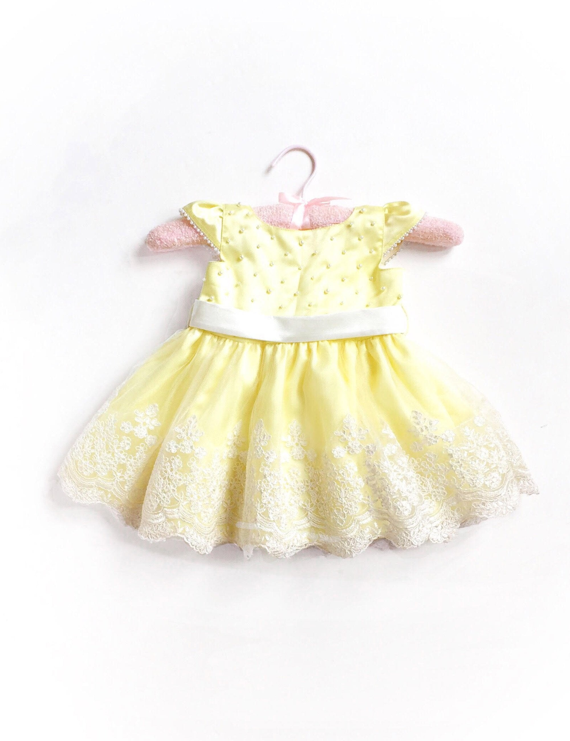 Paris Belle Dress in Yellow Colour for Girls