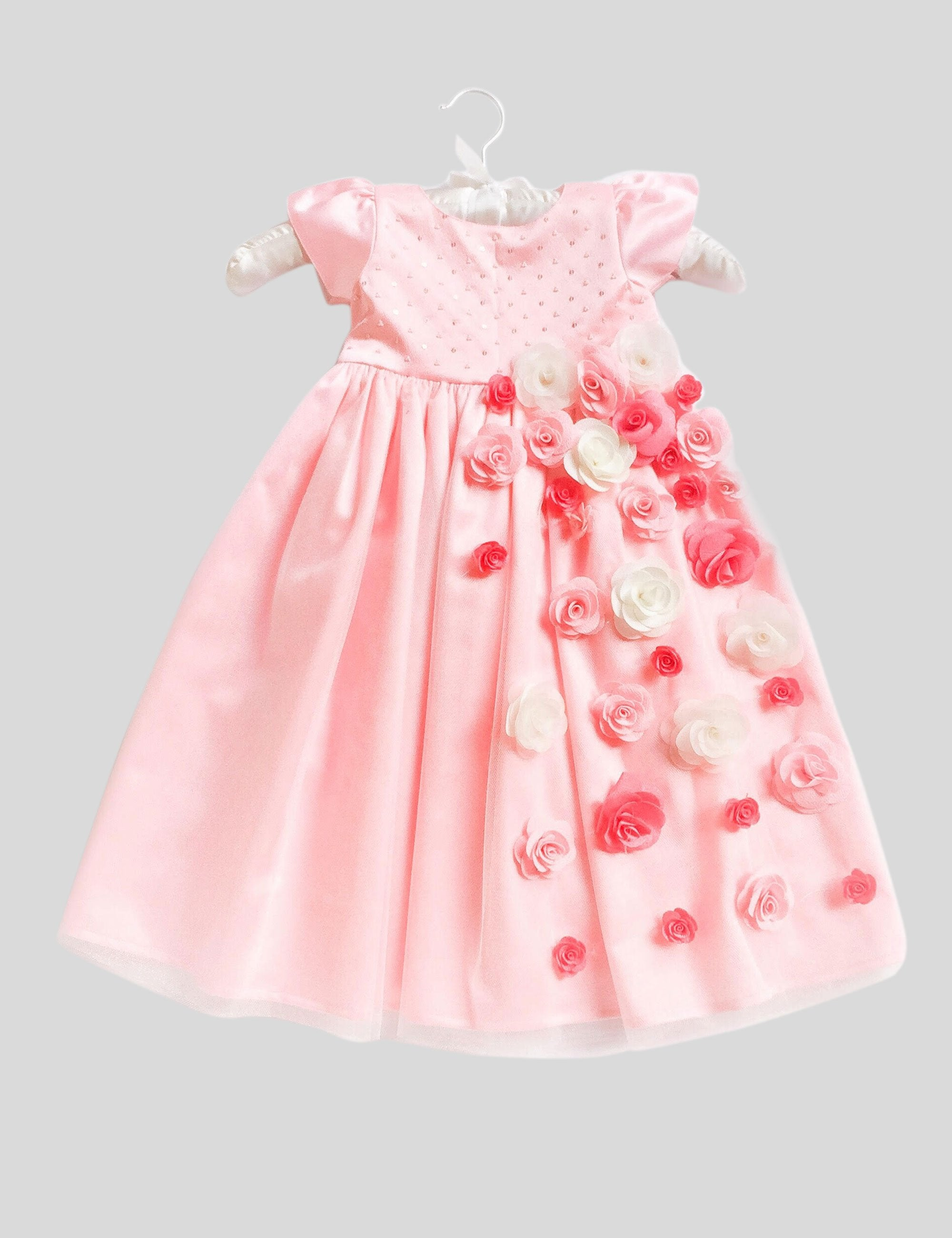Rosewater Gown in Pink Colour for Girls