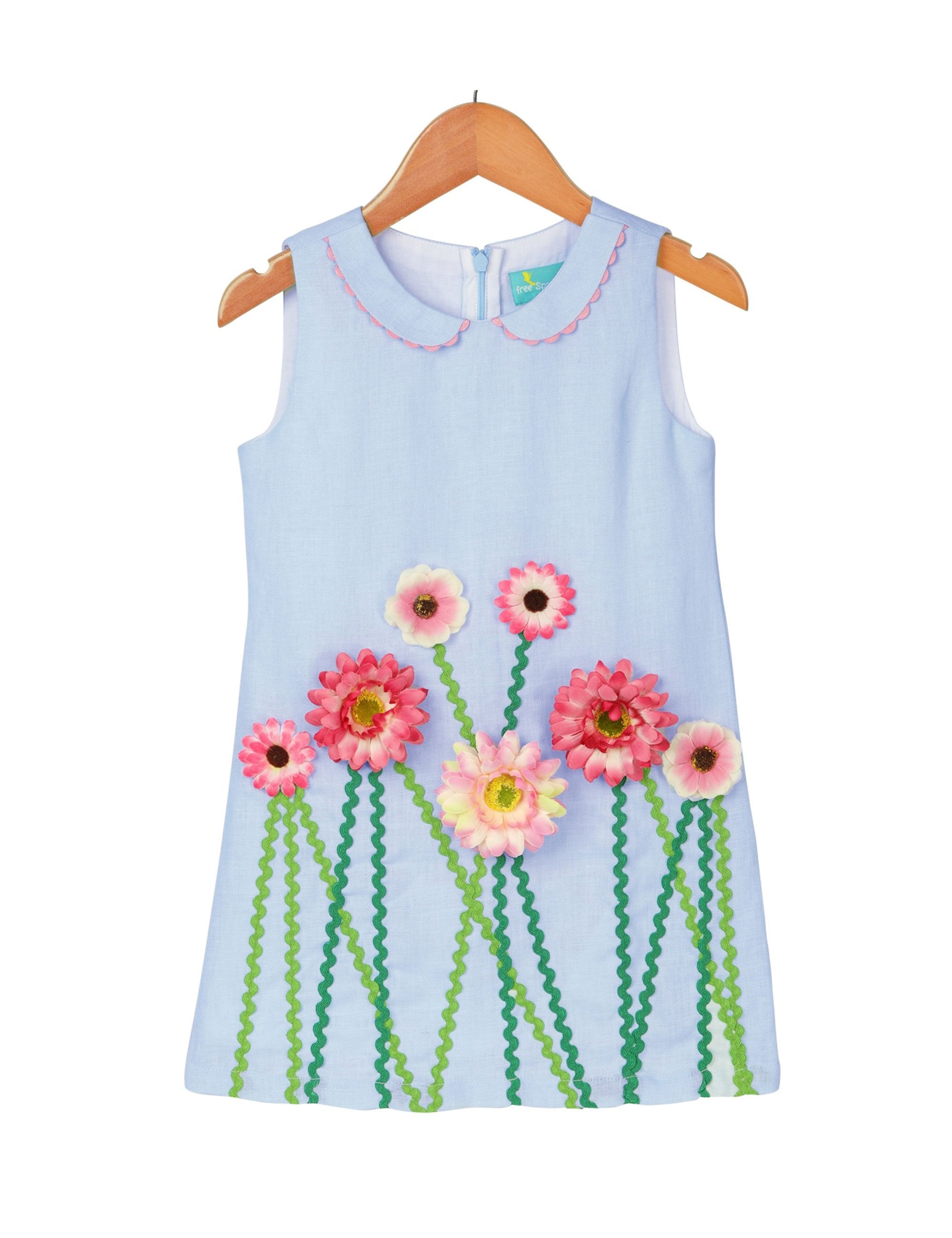 Summer pride dress in blue colour