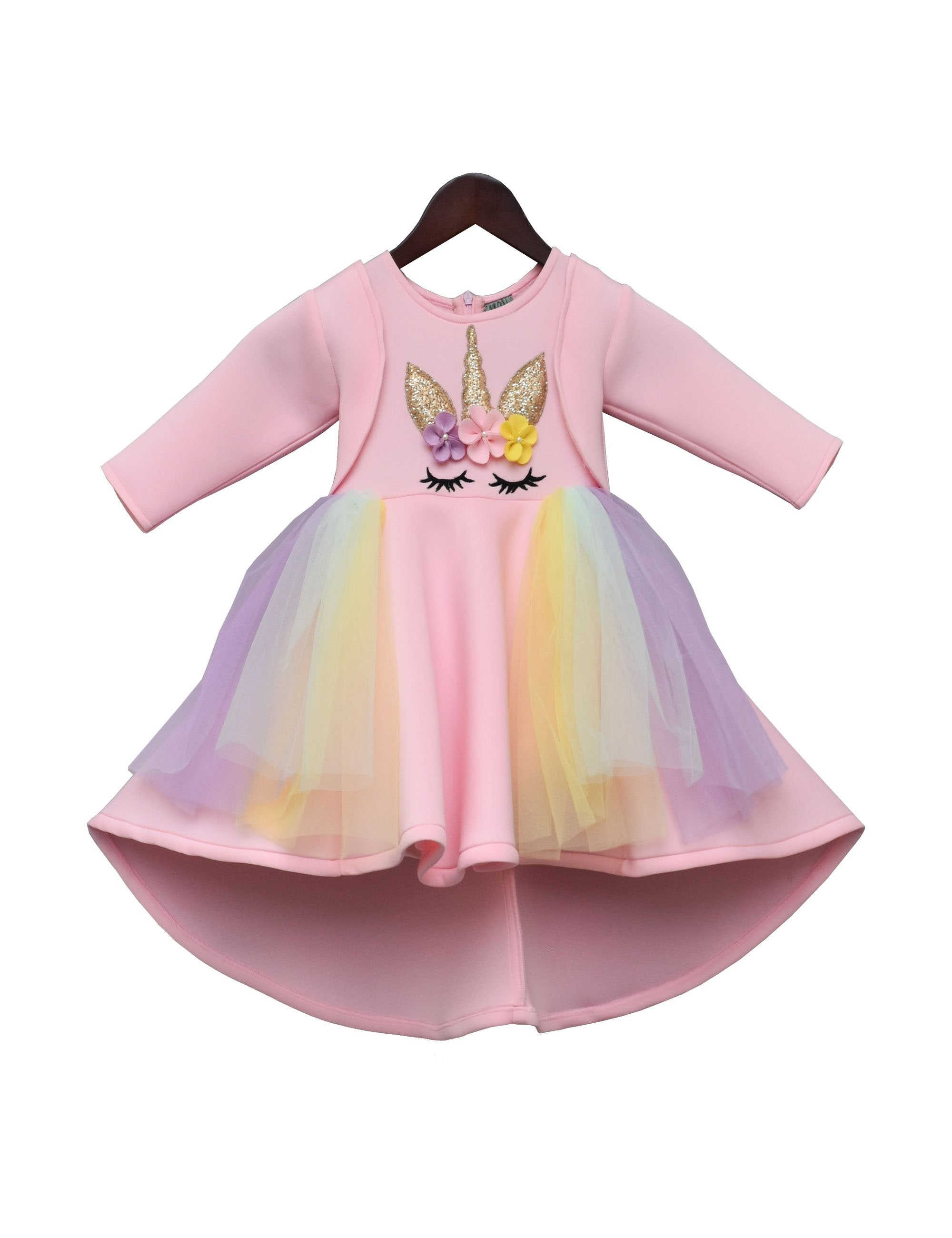 Peach Unicorn Dress
