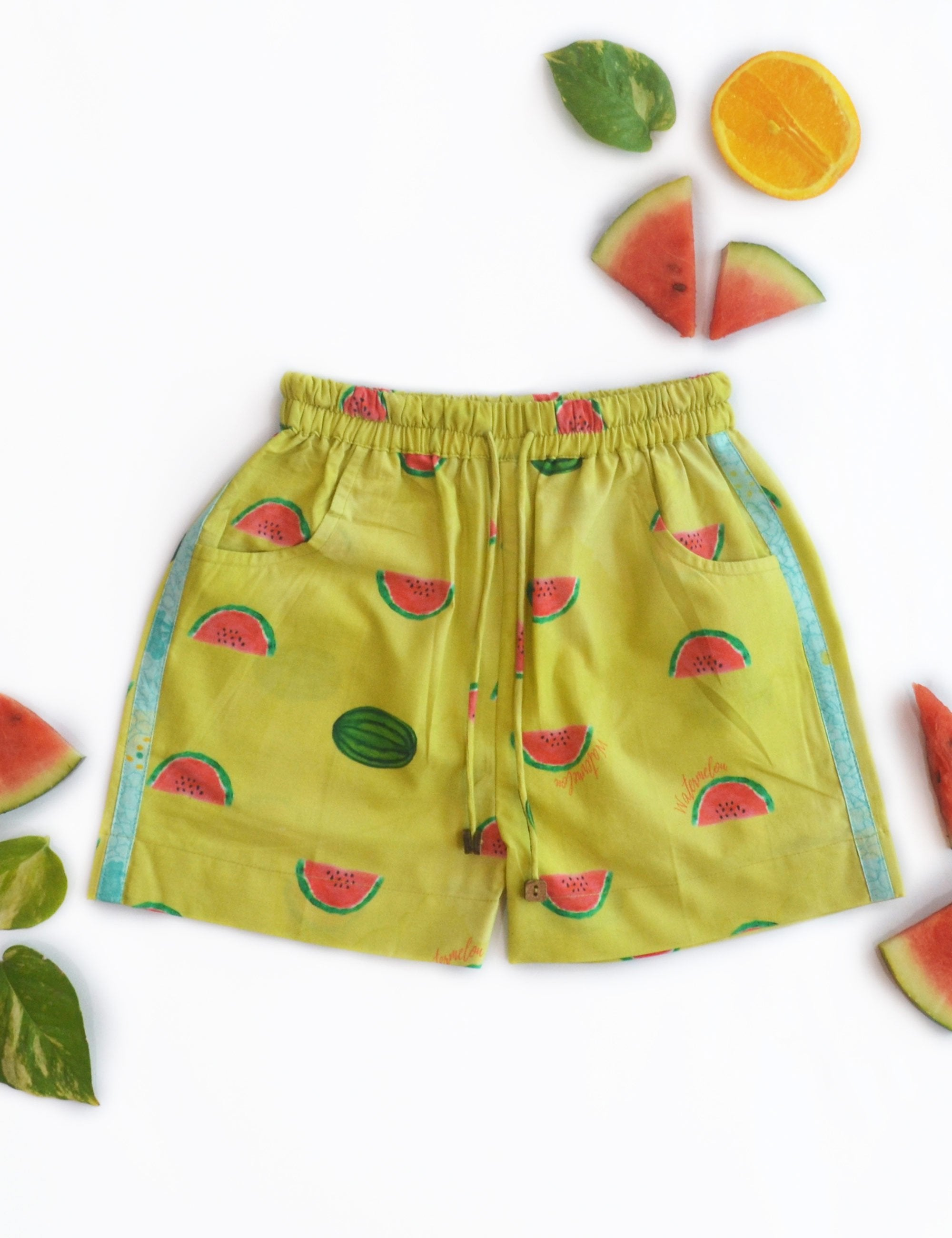 Watermelon Splash Casual Shorts