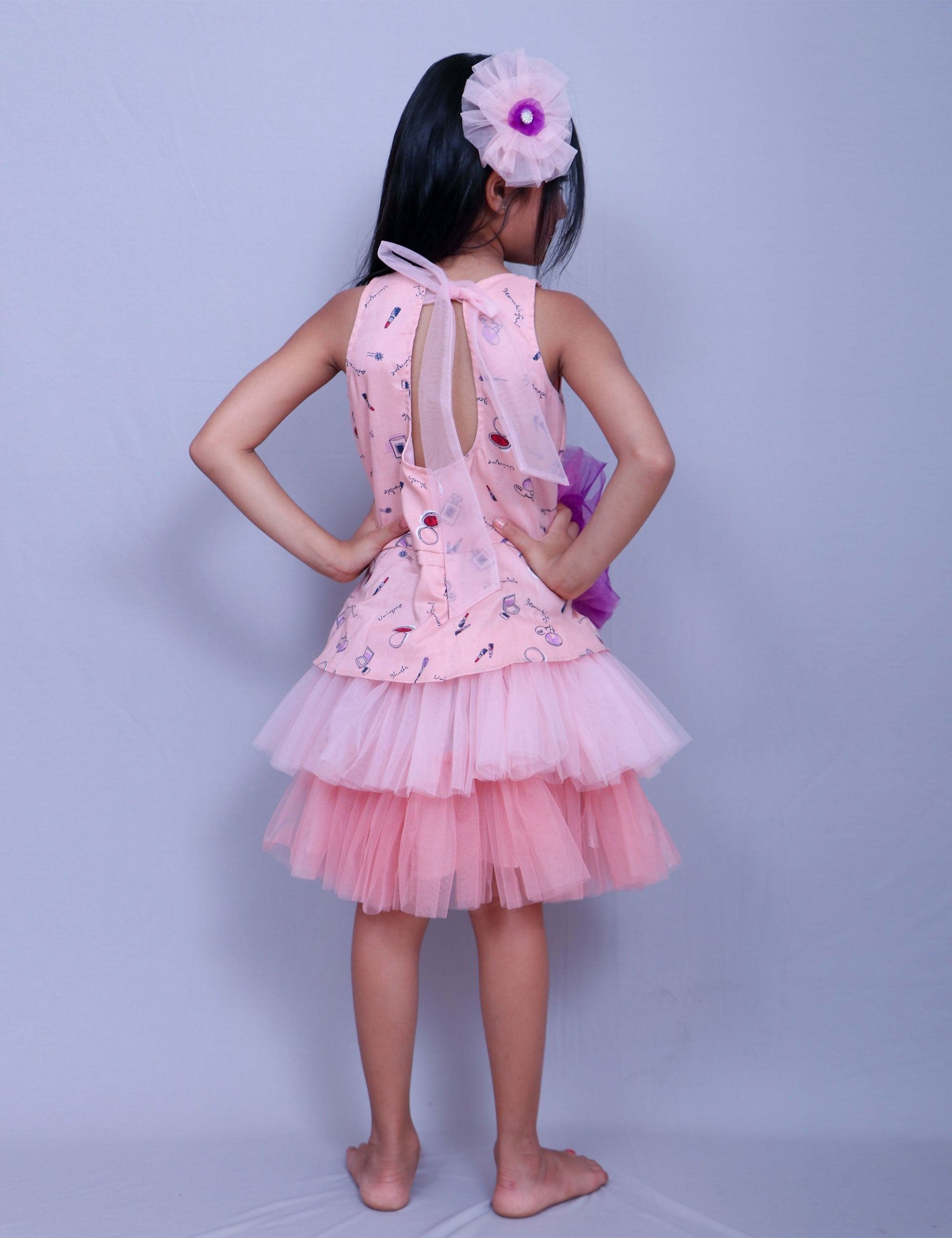 Double Frilled Frock for Girls